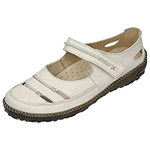 Miccos Shoes womens Velcro shoeVelcro shoe beige