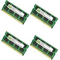 16GB (4 X 4GB) DDR3-1066MHz PC3-8500 SODIMM for Apple iMac Late 2009 Intel Core i7 Quad-Core 2.8GHz 27 MB953LL/A CTO (iMac 11,1)