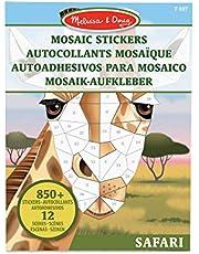 Melissa & Doug 40160 książki aktywnościowe — kolorowanie/malowanie/naklejki, wiele