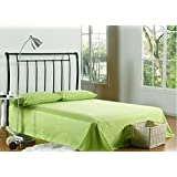 3 Piece BedSheet Set, King Size-9, Green