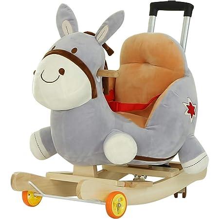Cavallo A Dondolo Con Ruote.Cavallo A Dondolo Legno Cavallo A Dondolo In Legno 2 In 1 Cavallo