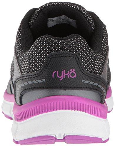 RYKA Womens Harmony Cross Trainer, Black/Meteorite/Purple, 6 W US