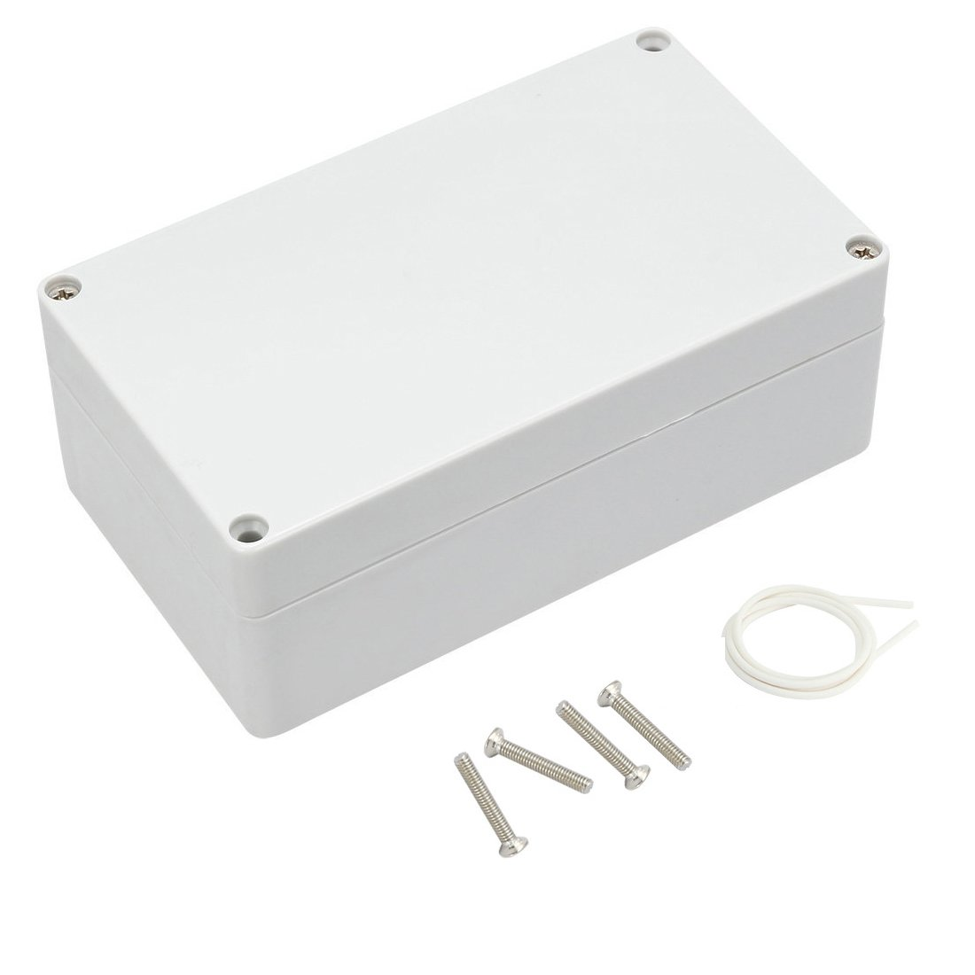 83mmx58mmx33mm Awclub Waterproof Dustproof IP65 ABS Plastic Junction Box Outdoor Universal Electric Project Enclosure Gray 3.3x2.3x1.3