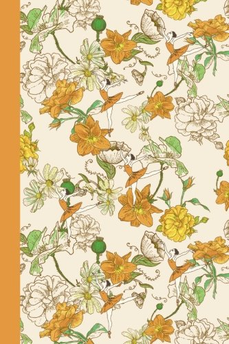 Journal: Flower Dancers (Yellow) 6x9 - LINED JOURNAL - Journal with lined pages - (Diary, Notebook)