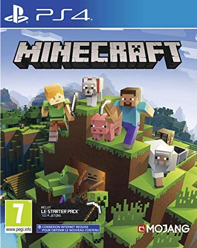 Minecraft Bedrock pour PS4 [Importación francesa]: Amazon.es ...
