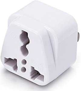 ICEVEIN Universal Power Travel Plug Adapter Converting from EU/UK/CN/AU/JP to USA