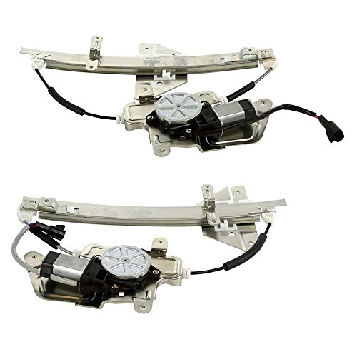 Prime Choice Auto Parts WR841818PR Rear Window Regulator Pair ()