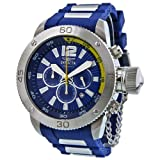 Invicta Signature II Russian Diver Chronograph Blue Dial Mens Watch 7423