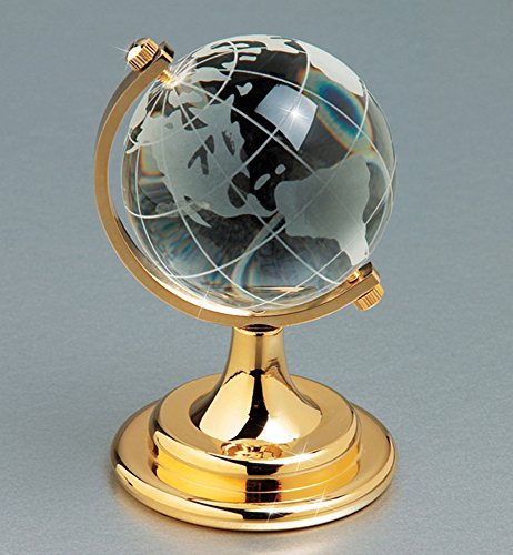 Award Crystal Globe - 9