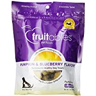 Fruitables Baked Dog Treats Pumpkin & Blueberry Flavor 7 Oz