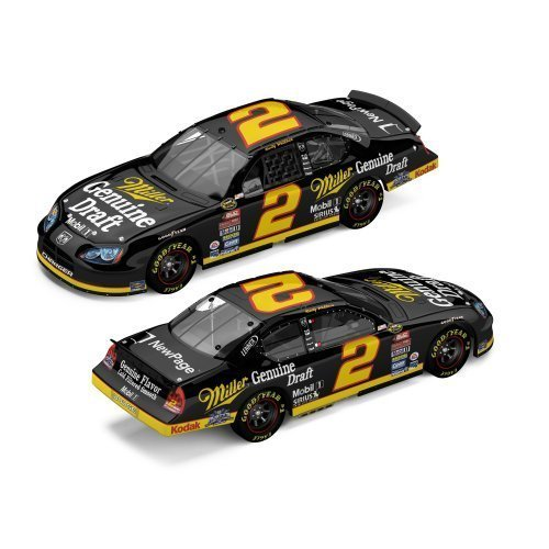 - Rusty Wallace #2 Miller Genuine Draft / Retro / 2005 Charger / 1:24 Scale Diecast Car