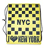 I Love New York Drawstring Backpack