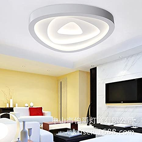 moderna FSD LED de lámpara de acrílico Simple hierro techo 0nO8kXwP