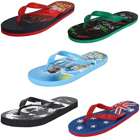b7f9fcdbc Earton Mens Stylish   Trendy Multicolor Combo Flip-Flop   House Slipper ( COMBO-222+223+225+237+506-10)  Buy Online at Low Prices in India - Amazon.in