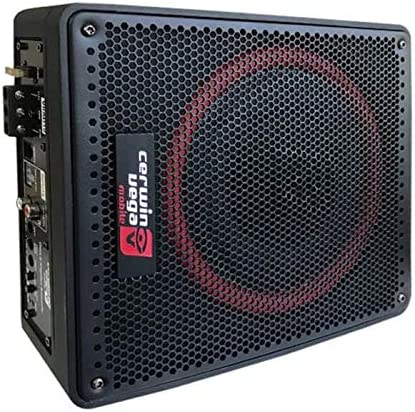 Cerwin-Vega VRAD10 10 4Ω 600W Max 200W RMS Powered Active Subwoofer with Passive Radiator