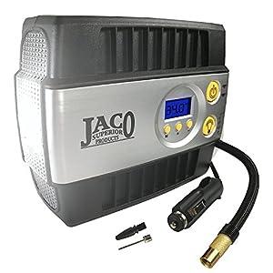 JACO SmartPro Digital Tire Inflator Pump - Premium 12V Portable Air Compressor - 100 PSI from JACO Superior Products