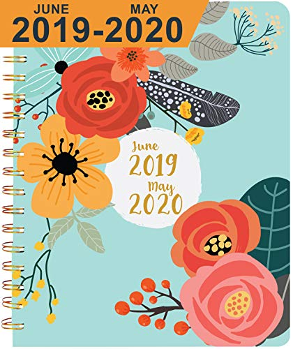 2019 Planner (June 2019 - May 2020) ~ Boost Productivity, Obtain Straight A's, and Hit Big Goals ~ Daily, Weekly, Monthly Calendar Agenda ~ Discover Your Best You! ~ Academic Planner 2019-2020 (Best Christmas List App 2019)