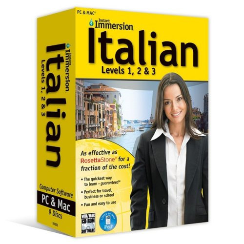 Instant Immersion Italian  Levels 1  2    3  English And Italian Edition