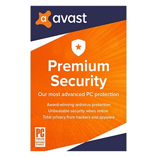Avast Premium Security 2021 | Antivirus Protection Software | 1 PC, 1 Year [Download]
