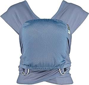 Close Parent Caboo Lite - Mochila fular ergonómica, color azul