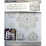 FolkArt Laser Cut Painting Stencil, 30950 Tangier