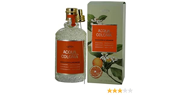 Amazon.com : 4711 ACQUA COLONIA by 4711 MANDARINE & CARDAMOM EAU DE COLOGNE SPRAY 5.7 OZ (Package Of 3) : Eau De Toilettes : Beauty