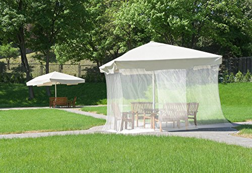 Amazon.com: NATURO Outdoor Double Bed Mosquito Net Canopy With 2 Insect  Repellent Bracelets, Hanging Kit, Bag And E Book: Sports U0026 Outdoors