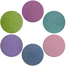 Summer Sixers Collection Eyeshadow Set: 6 Single Eye Shadows Makeup Magnetic Refill Pan 26mm, Paraben Free, Gluten Free, Made in the USA