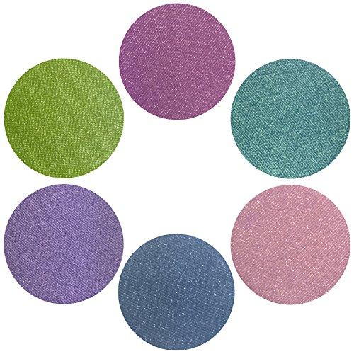 Summer Sixers Collection Eyeshadow Set: 6 Single Eye Shadows