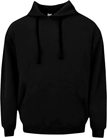 Happy Jackson Happiness Black Hoodie Sweatshirt for Men Casual Fleece Warm Pullover