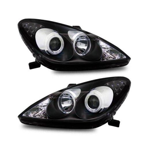SPPC Projector Headlights Black (CCFL Halo) For Lexus ES 300/330 - (Pair)