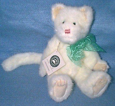 Boyds Bears Plush TESSA FLUFFYPAWS Fabric Kitten Cat Jointed 530901