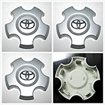 Gosweet 4X Brand NEW Four Pieces Set of For 2007-2013 Toyota Tundra 2009-2013 Toyota Sequoia Wheel Hub center Caps Centre Cover Wheels 69517, 42603-0C070 , US Fast Shipment