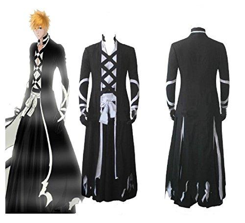 Bleach Ichigo Kurosaki New Bankai Cosplay Costume
