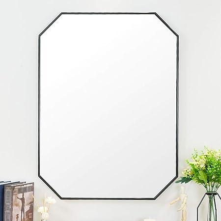 L Kcbty Miroirs De Salle De Bains Avec Cadre Noir Miroirs