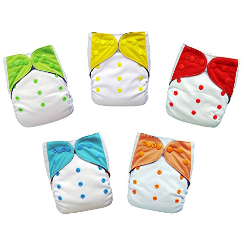 Diapers Buttons Reusable 5 Pack Inserts product image