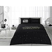 Star Wars the Force Awakens Licensed 100% Cotton 5pcs Full - Queen Size Comforter Set Bedding Linens