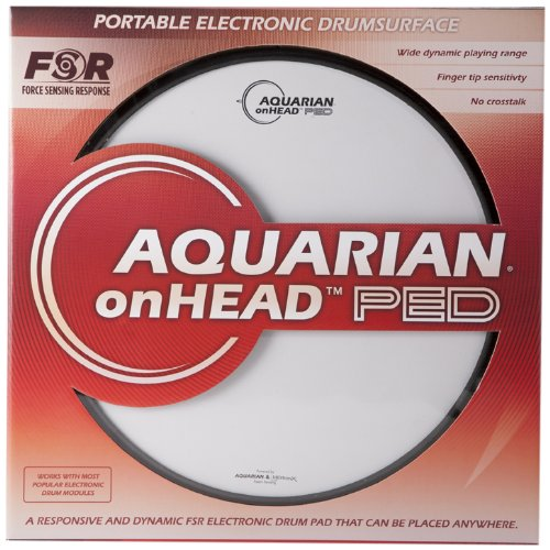 Aquarian Electro-Acoustic OHP14B Electronic Drum Pad by Aquarian