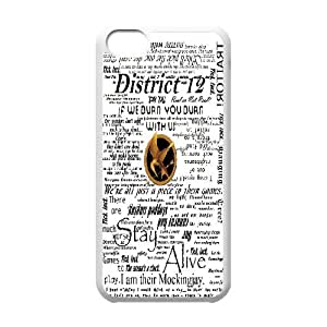 Poster Hunger Games Mocking jay phone Case Cove For Iphone 5c XXM9954115