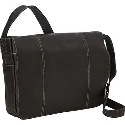 f477a31ab8d9 Amazon.com  Royce Leather 13 Inch Laptop Messenger Bag in Colombian Leather