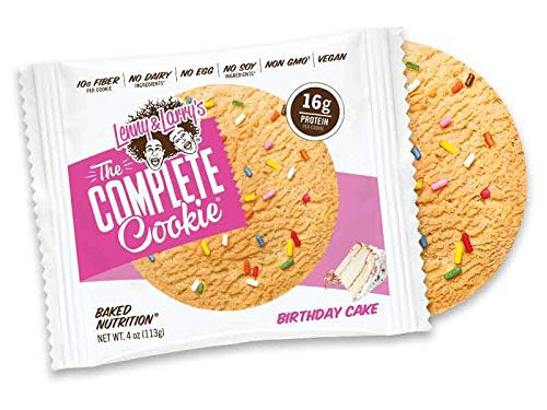 Lenny & Larry's Complete Cookie Singles - Mix and Match Your Favorite Flavors (Birthday Cake)