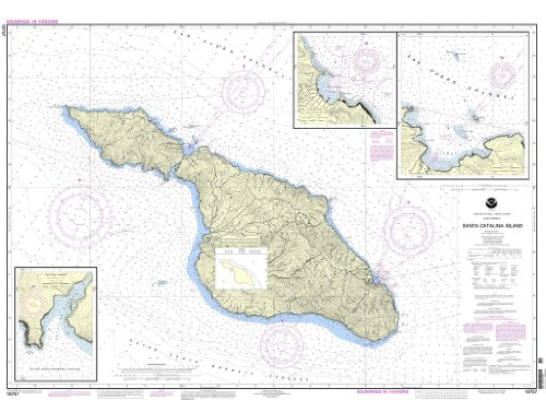 NOAA Chart 18757: Santa Catalina Island;Avalon Bay;Catalina Harbor;Isthmus Cove