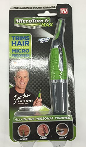 Brett Favre All-in-One Nose, Ears & Neck Hair Personal Trimmer (may or may not carry Bret Favre photo)