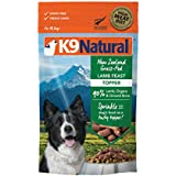K9 Natural Freeze Dried Dog Food Topper Perfect Grain Free, Healthy, Hypoallergenic Limited Ingredients for All Dog's - Raw, Freeze Dried Mixer - Lamb Topper - 5oz Pack