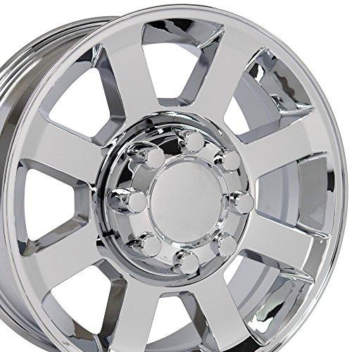 OE Wheels 20 Inch Fits Ford F250 F350 Super Duty Style FR78 Chrome 20x8 Rim Hollander 3693