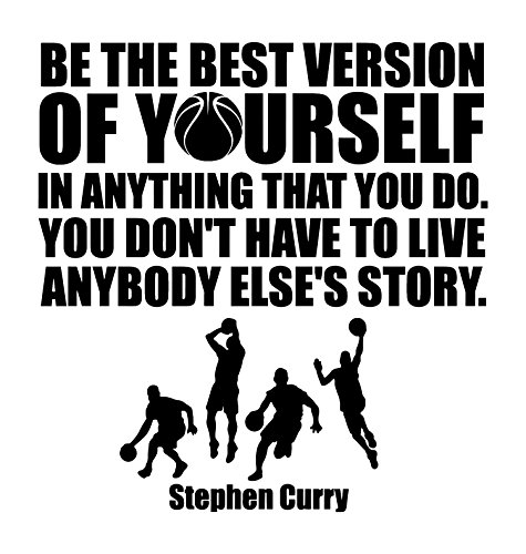 Best Motivational Sports Quotes Of All Time: Stephen Curry Vinyl Wall Art Decals