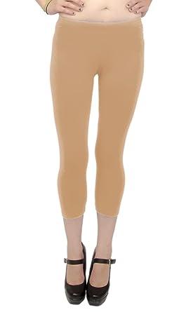 Vivian's Fashions Capri Leggings - Cotton (Junior and Junior Plus ...