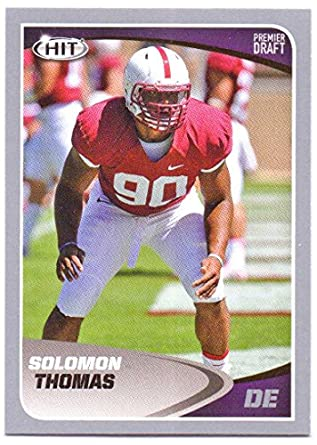 Solomon Thomas 2017 Sage Hit Premier Draft Silver  6 - San Francisco 49ers 1695fd10c