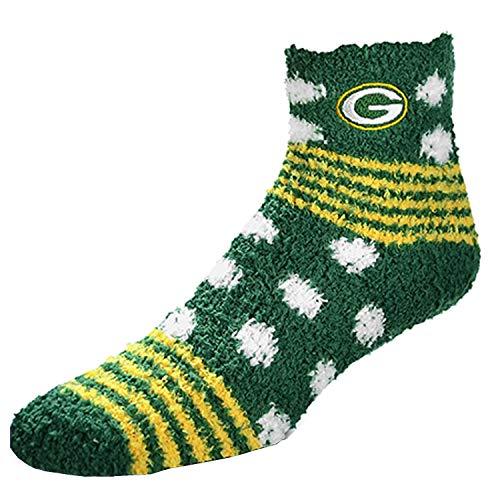 For Bare Feet NFL Homegater Sleep Sock Packers OSFA