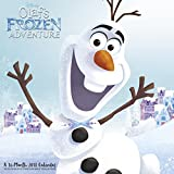 Olaf's Frozen Adventure Wall Calendar (2018)